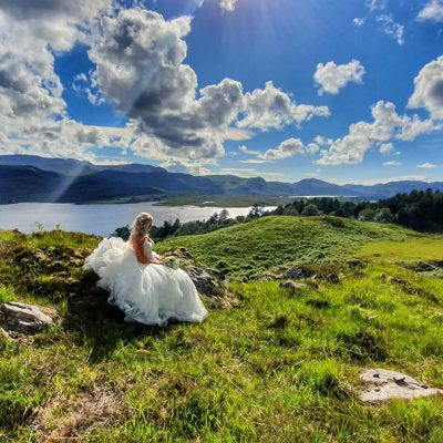 Luxury Scottish Wedding venue at Letterewe Estate