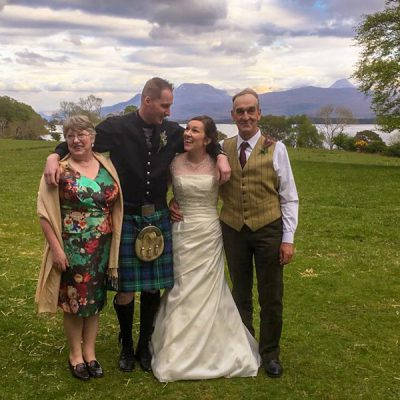 Exclusive wedding venue with accomodation in Scotland