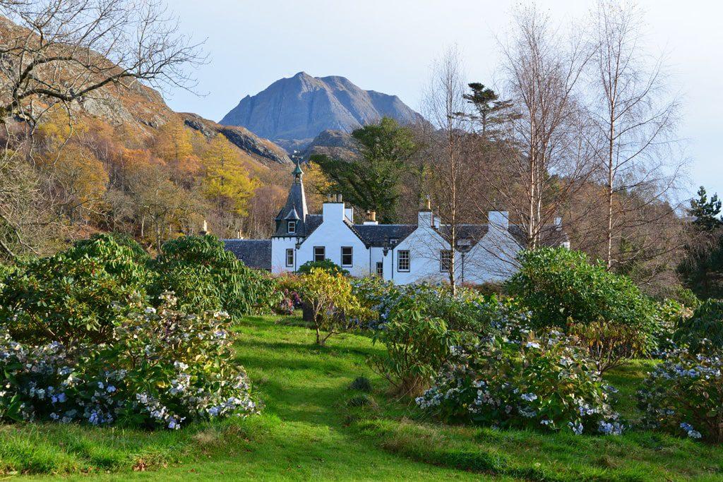 Letterewe lodge garden