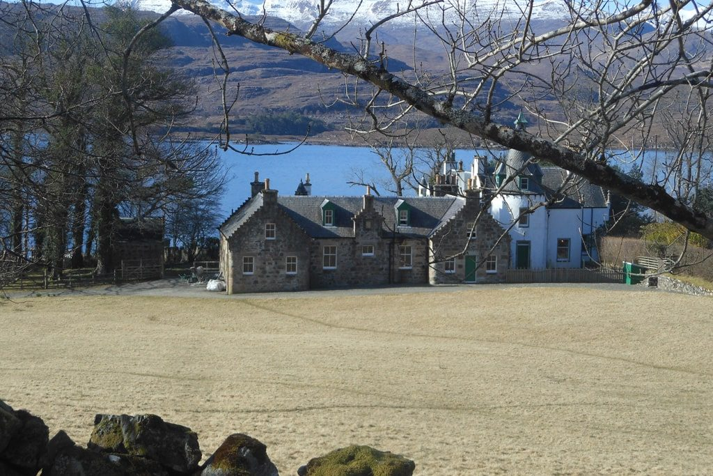 Self-catering lodge in Scotland