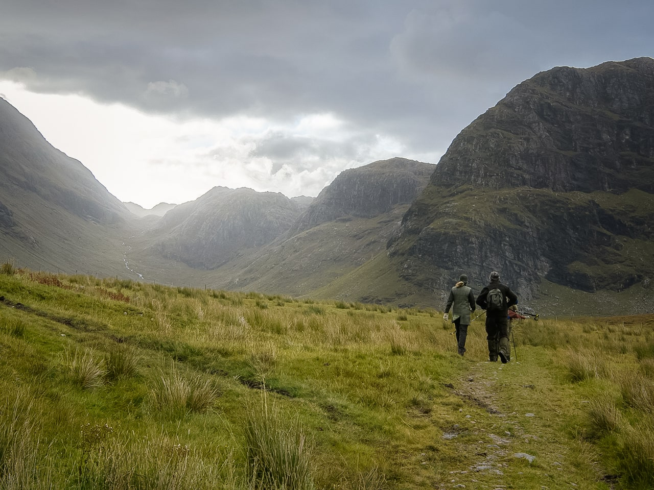 Walking and hiking in Scotland Highlands