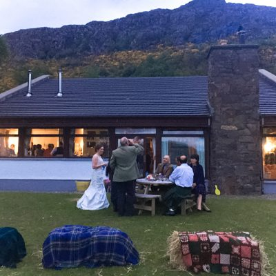 Wedding venue in Scotland