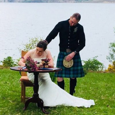 Wedding venue in the Highlands