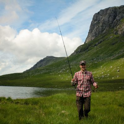Brown trout fishing in Carnmore