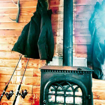 Fishing lodge in Scotland
