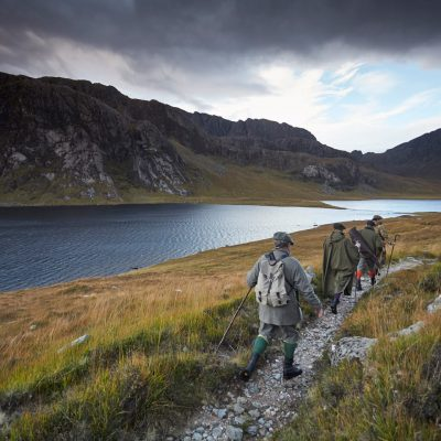 Deer stalking and hiking in Scotland - Letterewe Estate