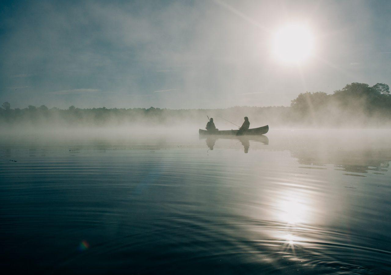 Fishing lodge near Loch Garbhaig