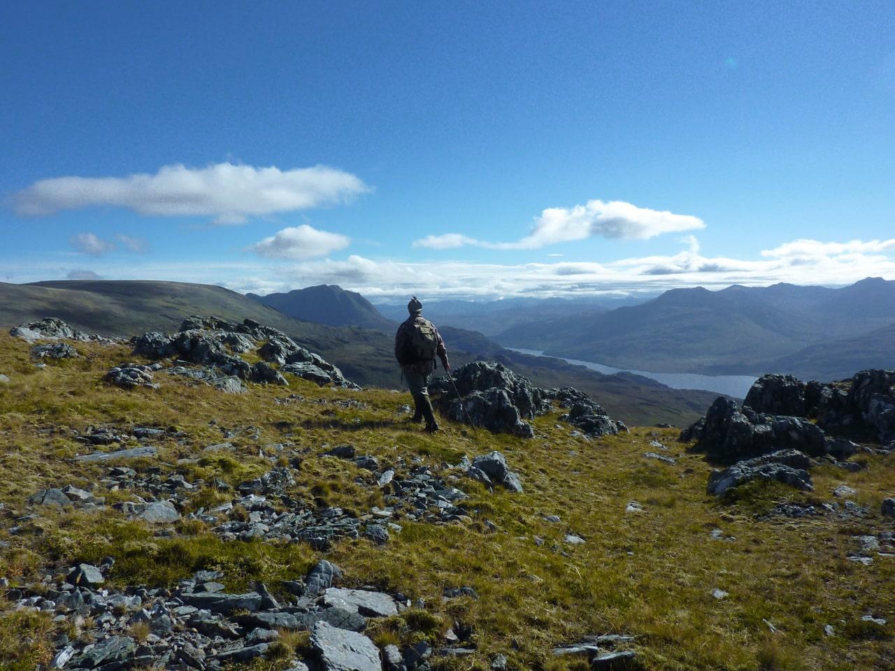 Climbing Slioch Mountain