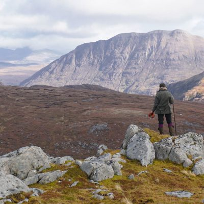 Slioch Mountain trekking near Wester Ross