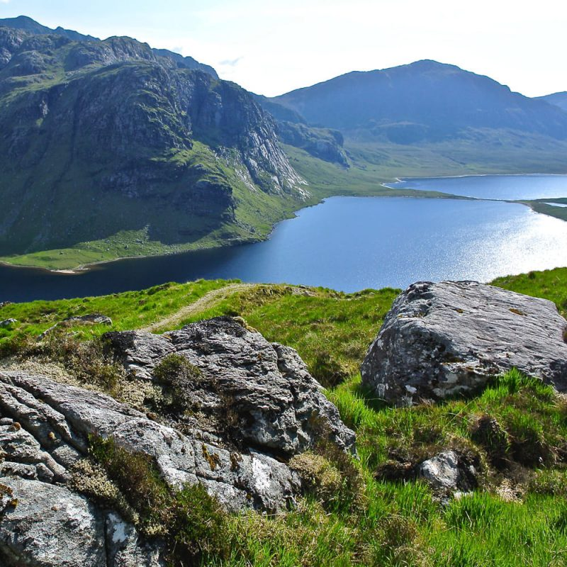 Fishing surroundings near Fionn Loch