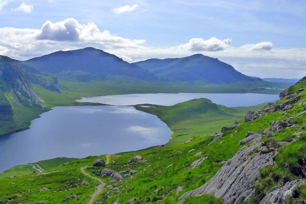 View on Fionn loch - Scotland