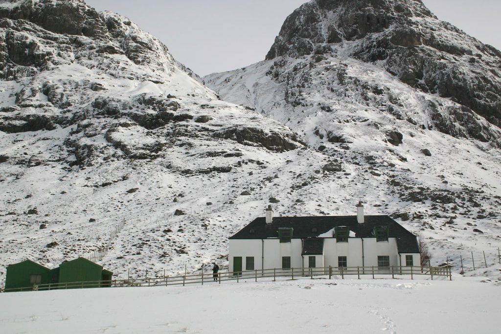 Guesthouse Carnmore for rent in wintertime