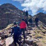 Scotland walking and hiking near Loch Garbhaig