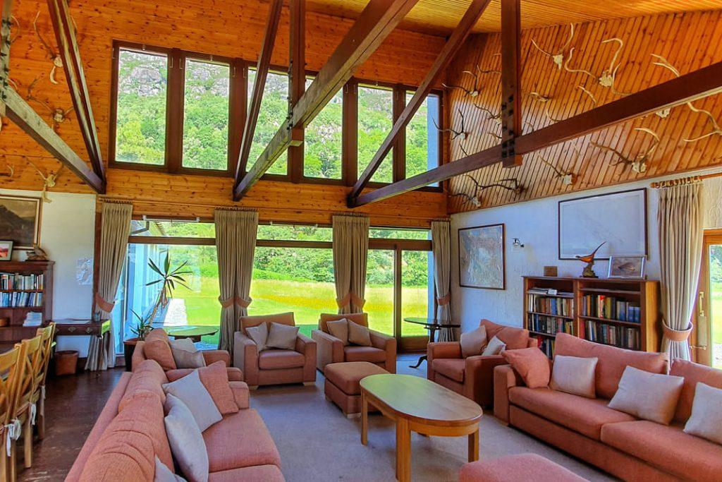 Livingroom of holidaycottage Ardlair
