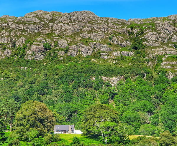 Ardlair self-catering holiday cottage near Loch Maree