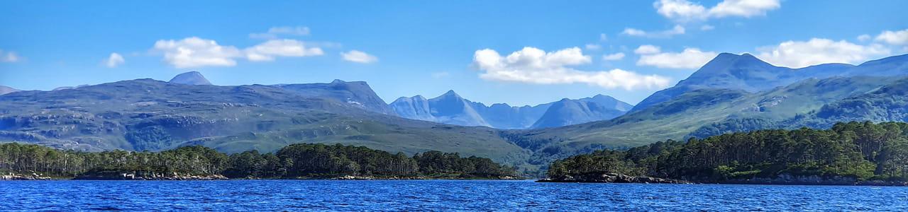 Ardlair view over Loch Maree