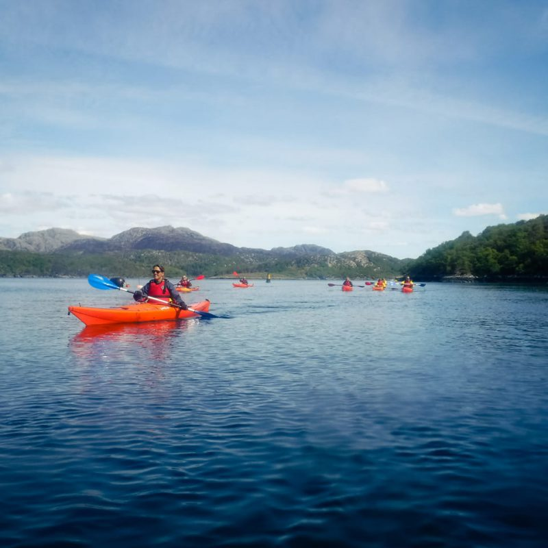 Best place for Scottish sea Kayaking