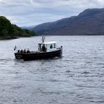 Boat cruise on Loch Maree