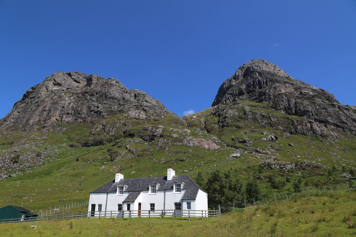 Carnmore - mountain lodge in Scotland