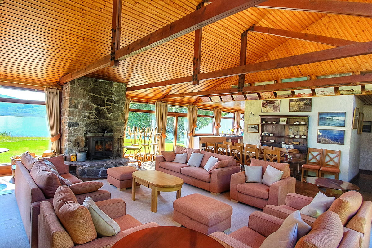 Ardlair Lodge - Livingroom