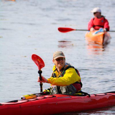 Kayak coast to coast in Scotland