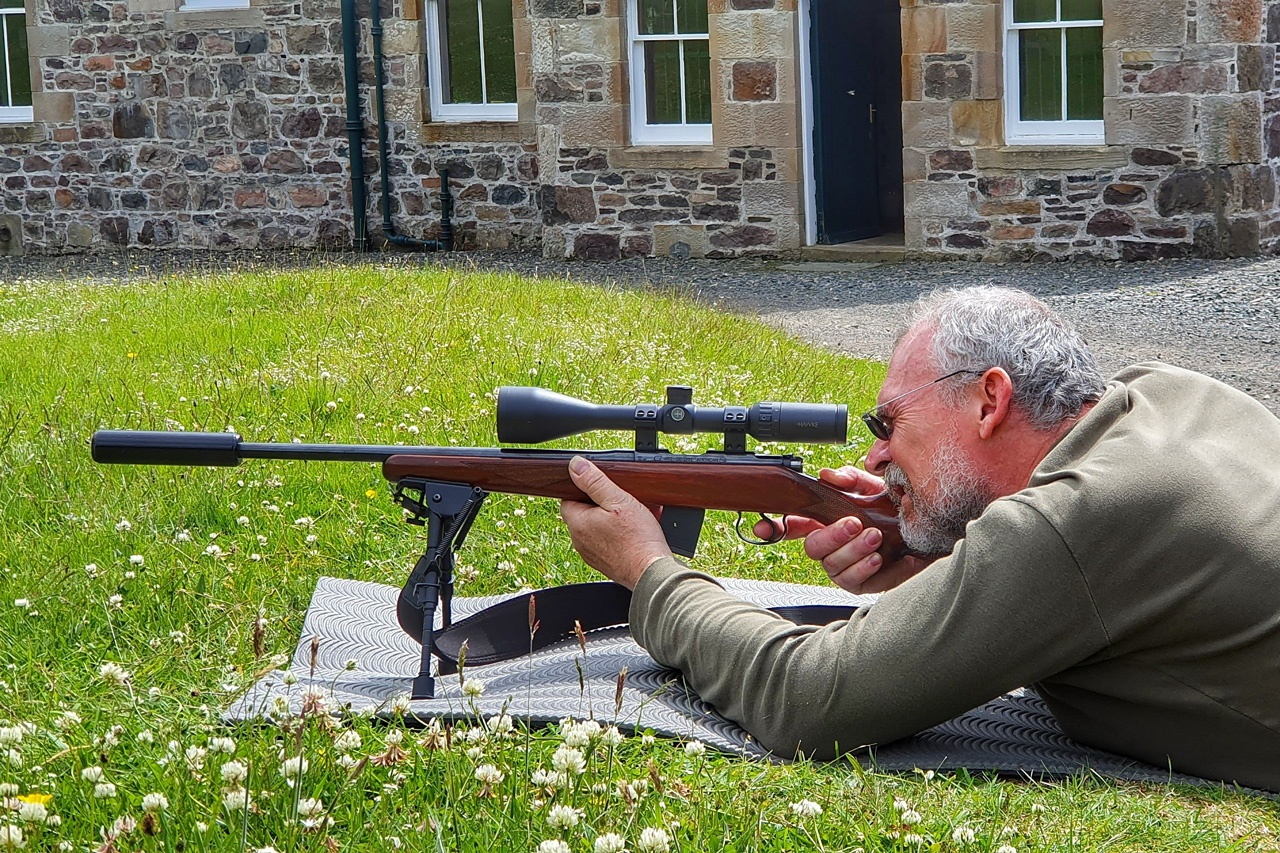 Learn target shooting in Scotland