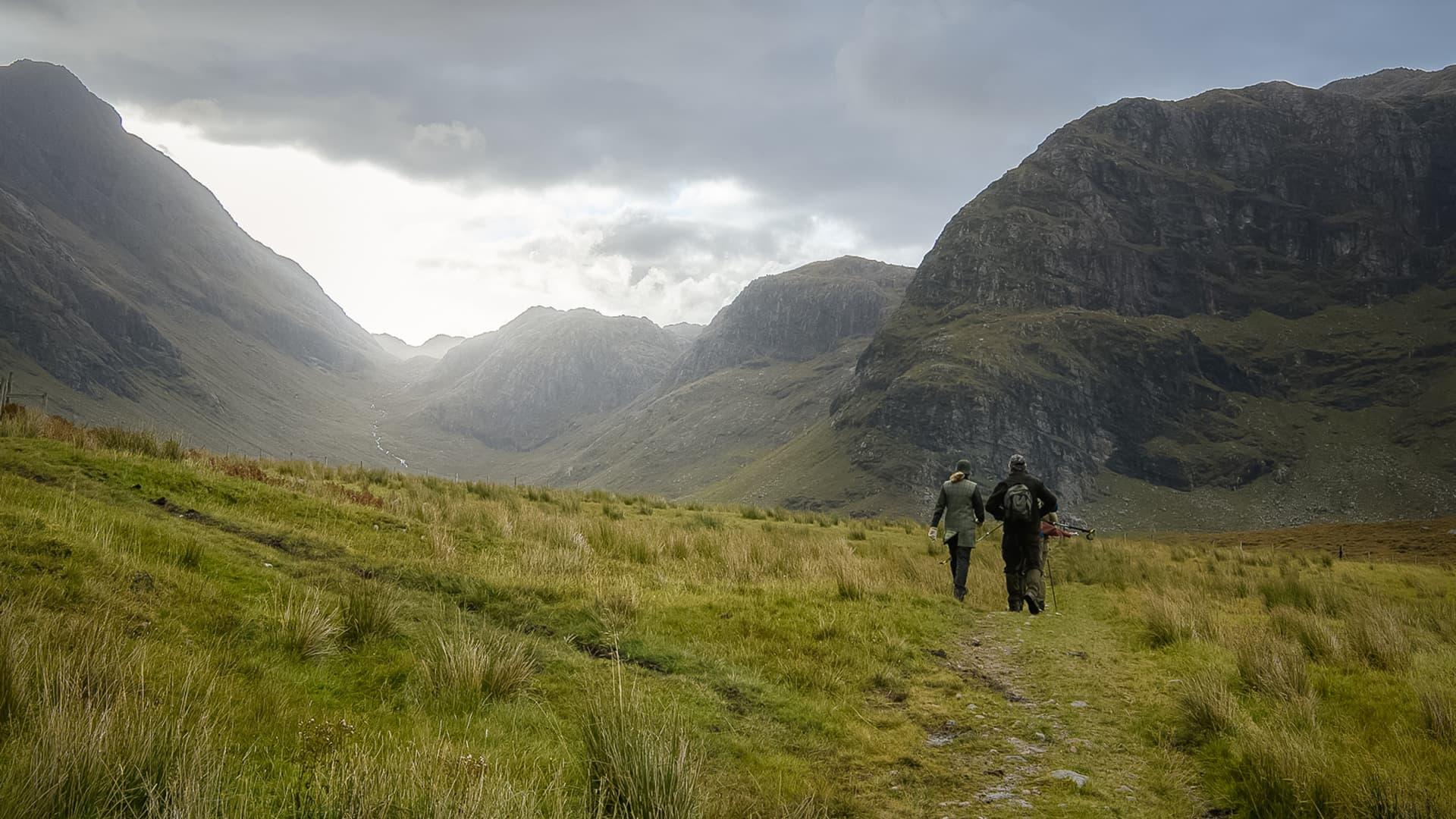 Walking & hiking in Scotland